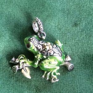 Barbara Bixby frog charm